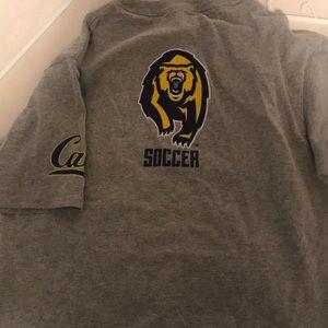 CAL BERKELEY SOCCER I.D. Camp shirt *rare*